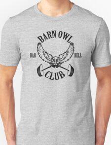 Barn Owl Barbell Club Classic Unisex T-Shirt