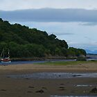 Low Tide at Crinan Ferry by WatscapePhoto