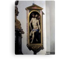 Inside Santa Croce Canvas Print