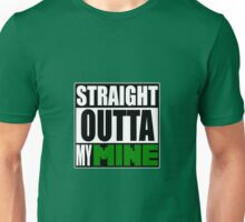 Minecraft - Straight Outta My Mine Unisex T-Shirt