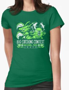 Bug Catcher Womens Fitted T-Shirt