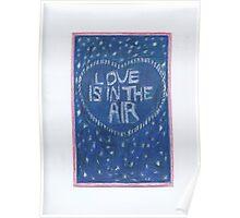 Valentine's Day Stars Poster
