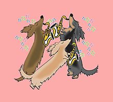 Long Haired Jazz Hound  by Diana-Lee Saville