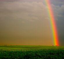 August Rainbow by Chris Pultz