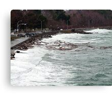 Ross Bay Storm Canvas Print