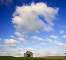 Leaning Door Barn (WIDE) by Chris Pultz