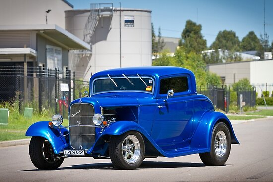 Paul Coombes' 1932 Ford Coupe by HoskingInd