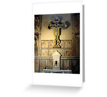 Inside Santa Croce 1 Greeting Card