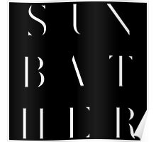 Deafheaven Sunbather - WHITE Poster