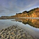 Tidepools in the Sand by Randall Scholten