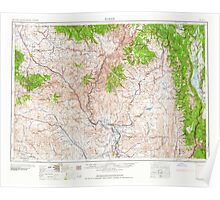 USGS Topo Map Oregon Baker 283294 1959 250000 Poster
