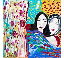 Mother and Daughter Photographic Print
