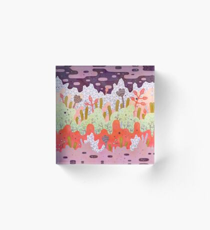 Crystal Forest Acrylic Block