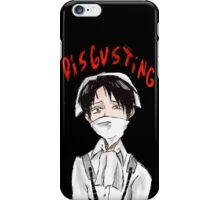 Filthy, Filthy, and Disgusting iPhone Case/Skin
