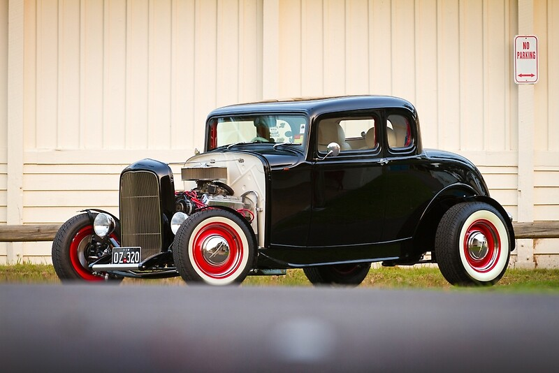 Barry 39 s 1932 ford 5 window coupe by hoskingind redbubble for 1932 ford 5 window coupe