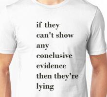 Evidence Unisex T-Shirt
