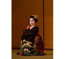 Maiko dance 4 Photographic Print