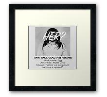 Bland Ann Framed Print