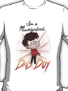 I'm a Misunderstood Bad Boy! T-Shirt