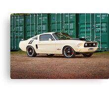 Ziggy's Hot Rods Ford Mustang Canvas Print
