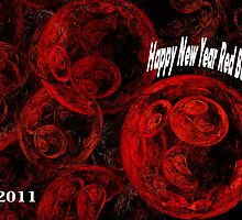 Happy New Year Redbubblers by Virginia N. Fred
