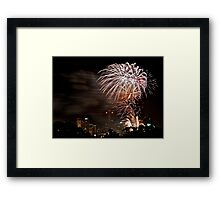 It's a celebration - blasting into 2011 Framed Print