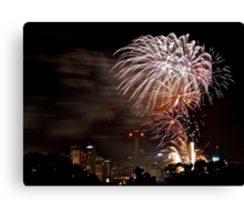 It's a celebration - blasting into 2011 Canvas Print