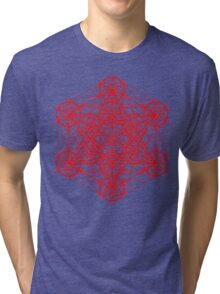 Infinity Cube Tri-blend T-Shirt