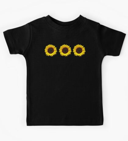 Sunflowers Kids Tee