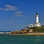 Point Lonsdale, lighthouse, Port Phillip Heads. by johnrf
