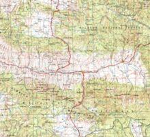 USGS Topo Map Oregon Canyon City 283312 1955 250000 Sticker