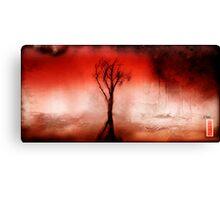 Red Tree Spirit Canvas Print