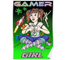 Gamer Girl Poster