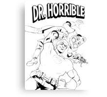 Dr. Horrible's Sing-Along Redbubble Canvas Print