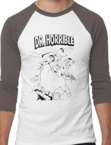 Dr. Horrible's Sing-Along Redbubble Men's Baseball ¾ T-Shirt