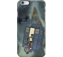 This Must Be Thursday iPhone Case/Skin