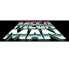 Megaman: Logo Photographic Print