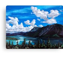 Bob Rossy Peaceful Landscape Painting Canvas Print