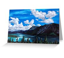 Bob Rossy Peaceful Landscape Painting Greeting Card