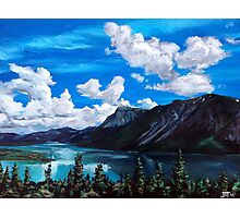 Bob Rossy Peaceful Landscape Painting Photographic Print
