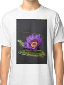 Purple Water Lily Classic T-Shirt