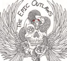 The Epic Outlaws Sticker
