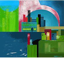 """City Across the Bay""  Photographic Print"