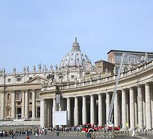 St. Peters Square by Darrell-photos