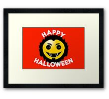 Happy Halloween - Werewolf version Framed Print