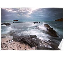 Stormy Skies Encounter Bay Poster