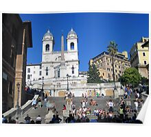 Spanish Steps - Rome Poster