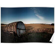 Refreshing landscape Poster
