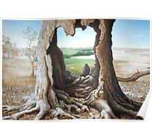 'Through' - A fantasy portal between Oz and Europe Poster