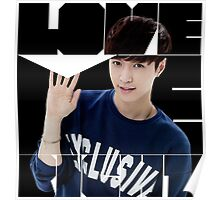 EXO Lay 'Love Me Right' Poster
